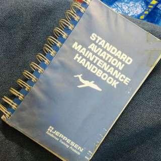 Original JEPPESEN STANDARD AVIATION MAINTENANCE HANDBOOK