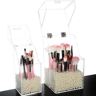 Acrylic Cosmetic Make Up Brush Organizer