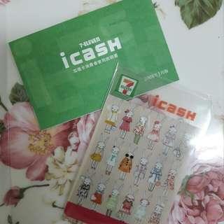 7-11×Lesportsac icash卡