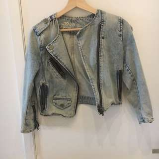 Gap XS Denim Jacket never worn