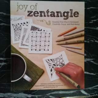 Zentangle Stress Relieving Book