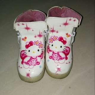 Hello Kitty Semi Boots