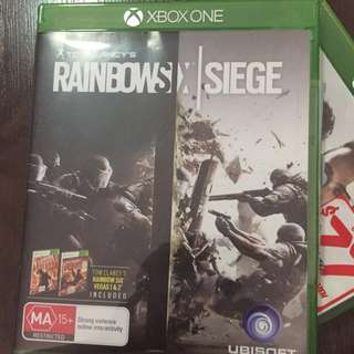 Xbox Game Rainbow Six Siege