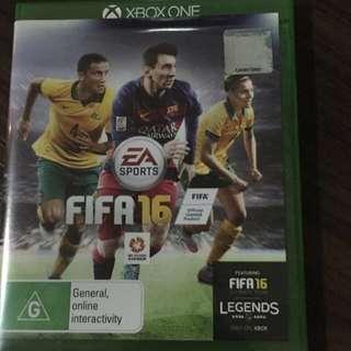 Xbox Game FIFA16
