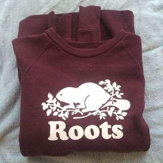 Roots crewneck
