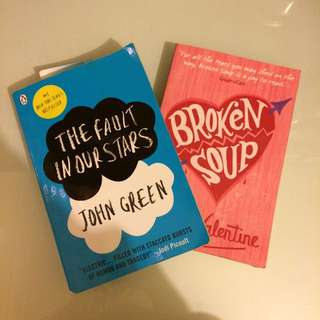 Broken Soup / The fault in our stars Books
