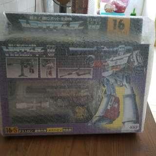 Transformers Black Megatron 16S E hobby Rare