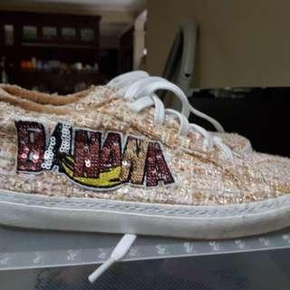 ZARA Trafaluc Banana Sneakers