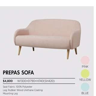 Francfranc prepas sofa (90%new)
