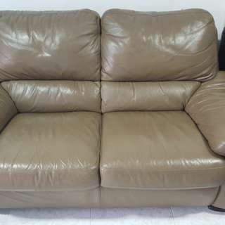 *Price Reduced* brown sofa