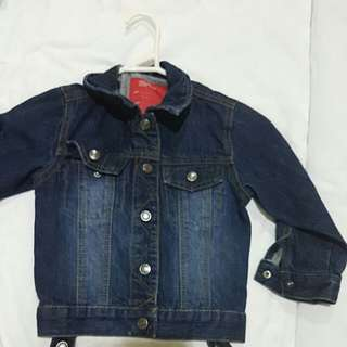 BOYS ESPRIT DENIM JACKET SIZE 3