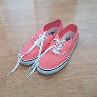Coral Pink Vans