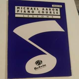 Paino book grade one