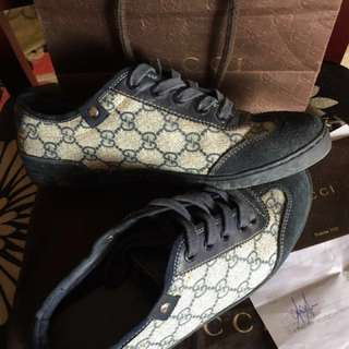 Gucci snakers original blue men/girl