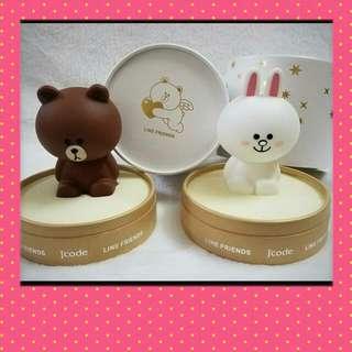 Linefriends Line Cony 兔兔 首飾盒