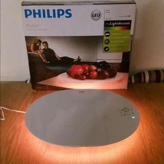 限時特價 全新 正貨 Philips 飛利浦 69152 Lumiware Platter LED Table 浪漫智能餐桌碟