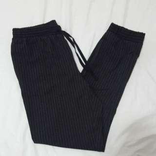 striped trouser like pants