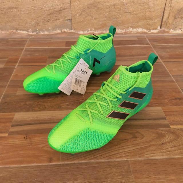 more photos 72732 eb878 $100 OFF [BNIB] Adidas Ace 17.1 Primeknit FG Solar Green ...
