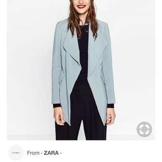 Zara 'Crepe' Loose Blazer