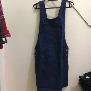 Topshop overall denim blue