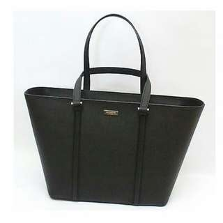 Kate Spade Newbury Lane Dally Leather Tote Bag - Black