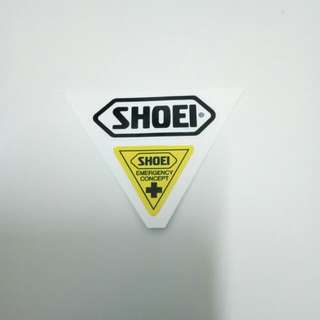 Shoei Visor Sticker
