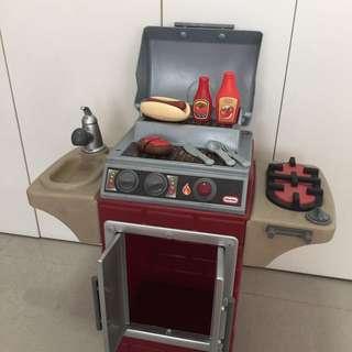 Little Tikes Barbecue Kitchen Set