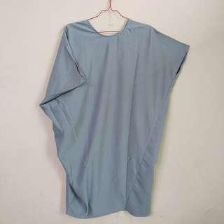 Mayoutfit bluish grey dress