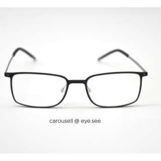 Air Light Ultem Spectacles 眼镜 15-1 Black-Grey (Special Kodak and Crizal Lens Promo Eyewear)