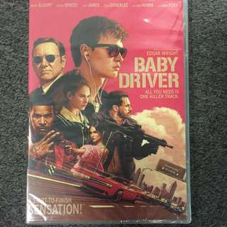 Baby Driver- DVD