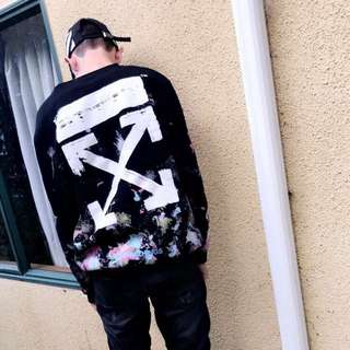Off white crew neck
