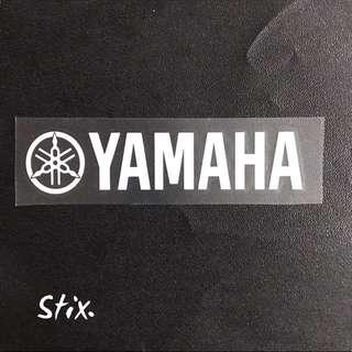 Yamaha Vinyl Cut Sticker