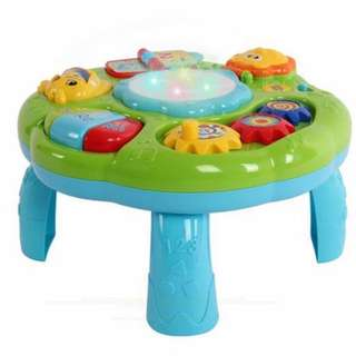 READY STOCK Realeos Muscial Learning Table Electronic Baby Toy - R580