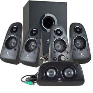 Logitech Surround awsome Sound 5.1 Ch
