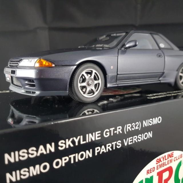 1 18 Autoart Nissan Skyline Gtr R32 Nismo Gunmetal Grey Src