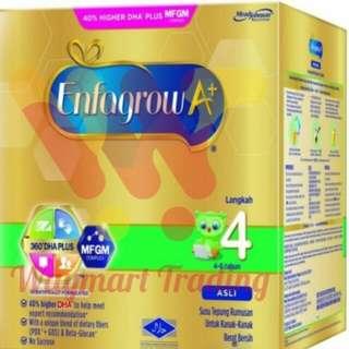 Enfagrow A + step 4 (original / vanila)  milk 1.8kg