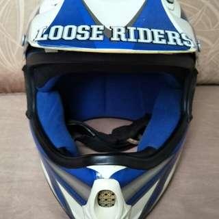 TTH MX fullface helmet