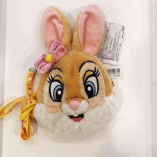 Disney 迪士尼 邦尼兔 票卡夾 零錢包