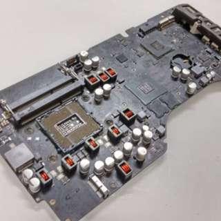 售 2013年 Imac a1418 故障主機板 (可以到淘寶交換板)
