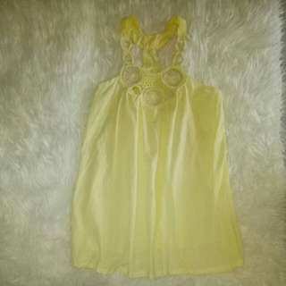 Dream catcher korean yellow dress
