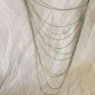 Silver necklace kalung silver