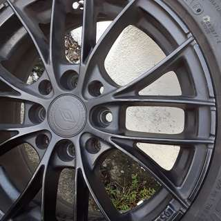 Sport Rim with New Tyre
