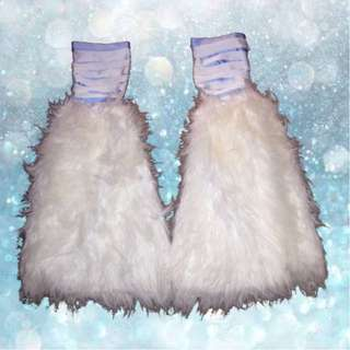 Free shipping!!! RAVER FLUFFIES RAVE WEAR LEG WARMERS RRP $50