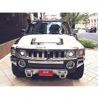 新 2006年 Hummer H3 銀色 3.5
