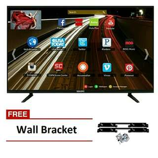 "SPARC S3200S 32"" Slim Smart LED HDTV with free Wall Mount Bracket"