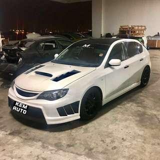 Subaru Impreza SGT 2.0A Turbo / Honda integra Sports Car for car rental