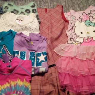 Girl's 7/8 Clothing Lot