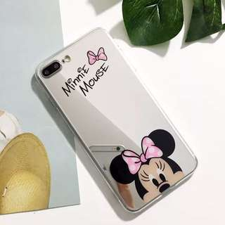 Minnie Mouse iPhone 6/6s plus case