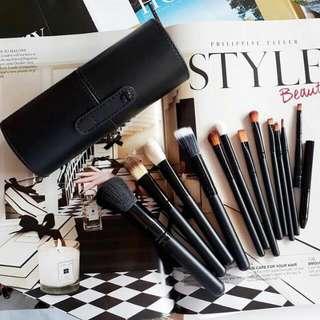 Make-up Brush Set w/ Case