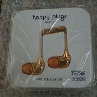Happy Plug Earphone Deluxe Rose Gold
